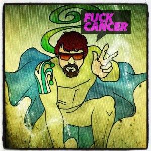 superhjälte fuck cancer